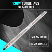 130w High Power Laser Tube For Co2 Laser Glass Wood Acrylic Cutter 12000hr Life