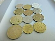 12 Coins-collection Of World-europemexico Plus More-low Price/low Shipping-e47