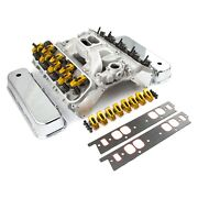 Superstreet Series Cylinder Head Top End Engine Combo Kit Chevy Big Block V8