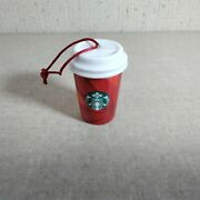 2014 Starbucks Holiday Red Cup Ornament