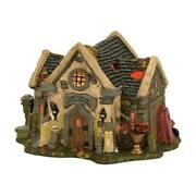 Department 56 Halloween Haunted Cemetery Shed 4056701 Nib