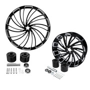 30 Front Rear Wheel Rim Disc Hub Fit For Harley Touring Street Glide 2008-2021
