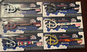 Disney Store Marvel Studios Mystery Collectible Keys - Set Of 6 With Boxes New