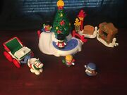 Fisher Price Little People Tree Lighting In Discovery Park Christmas Playset
