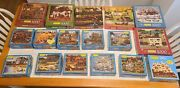 Charles Wysocki 1000 Piece Puzzles 17 Total Puzzles For One Price