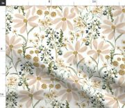 Daisy Dreams Country Floral Girl Spring Summer Spoonflower Fabric By The Yard