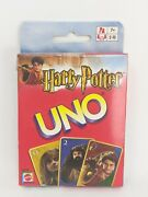 Harry Potter Uno Card Game 2003 Mattel 42797 Brand New Sealed Cards