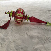 Waterford Marquis Venetian Glass Rosa Spire Ornament