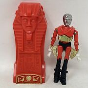 100 Original Vintage Micronauts Time Chamber Red Pharoid Figure Mego Parts 1977