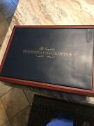 Franklin Mint The Presidential Coin Collection Display Box - Case Only