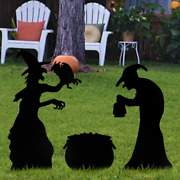 Halloween Decorations Outdoor Yard Signs With Stakes Scary Family Home Party New