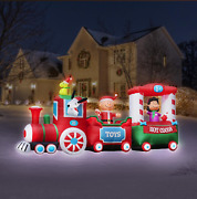 Reseve Now Classic 60and039s Peanuts Gang 16and039 Christsmas Train Yard Airblown 2021