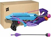 Nerf Rebelle Courage Crossbow Blaster Bow Cross Bow With Arrow Darts New Sealed