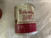 Fomoco Rotunda Nos Oil Filter Man Cave Display Oil Can Sized