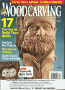 Wood Carving Illustrated Magazine, Fall, 2021 Issue, 96 Display Nov 8 2021