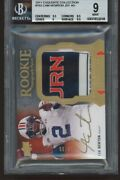 2011 Exquisite Collection Rpa /99 152 Cam Newton Rc Beckett Bgs 9 /auto 10