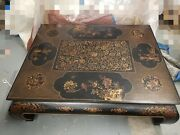 Hand Painted Chinoserie Coffee Table New