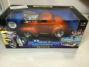 Muscle Machines 118 Too Cool And03941 Willys Coupe Bronze Sealed Box