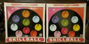 Vintage Pressman Skill Ball Nos Skillball Metal Toy Game Made In Usa Priced Each