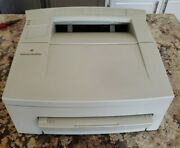Apple Personal Laserwriter 300 Printer - Powers On, No Errors, But Untested.