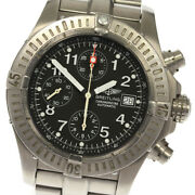 Breitling Chrono Avenger E13360 Date Navy Dial Automatic Menand039s Watch_633562