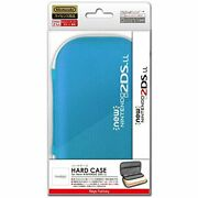 Hard Case For New Nintendo 2ds Xl Turquoise Blue Free Ship W/tracking New J