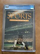 1954 Sports Illustrated V1 1 First Issue August 16 Cgc 8.0 Rare W/ Cards
