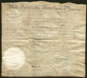 James Madison - Whaling Ships Papers Signed 03/22/1810 With Co-signers