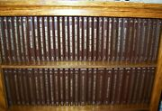The Louis L'amour Collection Lot 61 Leatherette Books Excellent To Like New