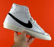 Womenand039s Nike Blazer Mid And03977 And039white Black Sailand039 [cz1055-100] All Sizes