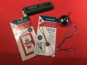 Cool Vintage Sewing Machine Maintaince Kit-for Display With Your Machines