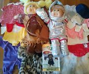 72 Cabbage Patch Kids Prototype Doll Outfits For Butterick Patterns C. 1983-1988