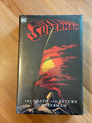 The Death And Return Of Superman Omnibus - Dc Comics - New Sealed 2019 Edition