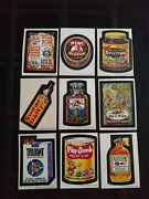 1974 Wacky Packages 6th Series Complete Set Of Stickers With Puzzle