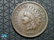 1872 Indian Head Cent Penny -- Make Us An Offer K6668