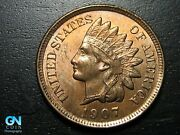 1907 Indian Head Cent Penny -- Make Us An Offer B6076