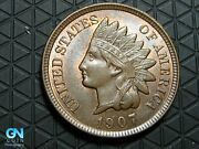 1907 Indian Head Cent Penny -- Make Us An Offer K6291