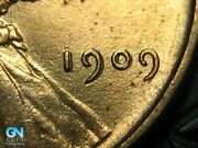 1909 Vdb Doubled Die Obverse Ddo Lincoln Cent Wheat Penny  K6353