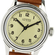 Longines Heritage Military L2.833.4 Gold Dial Automatic Menand039s Watch_635798
