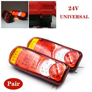 2andtimesled Trailer Lights Stop Tail Reverse Indicator Fog Lamps Truck Boat Universal
