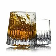 Mu16 Whiskey Glasses Old Fashioned Glasses Crystal Glassware For Diamond
