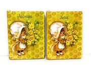 Vintage Hallmark Merry Mary Address Book And Small Notebook - 1970 Nos