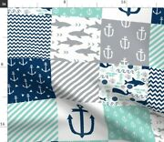 Nautical Cheater Spoonflower Fabric By The Yard