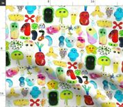 Bacteria Microbes Microbiology Organisms Viruses Spoonflower Fabric By The Yard