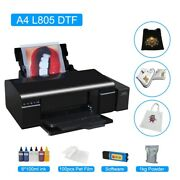 A4 Dtf Printer Direct Transfer Film A4 For Epson L805 A4 Heat Press For T-shirt