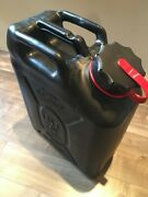 New Scepter Black Military Gas Can Mfc 5 Gallon / 20 L