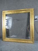 Antique Newcomb Macklin Arts And Crafts Gilt Painting Frame Fits 24x24 Inches