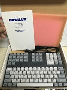 Datalux Space Saver Keyboard W/ Original Box 5 Pin Vintage Pc - Excellent Tiduc
