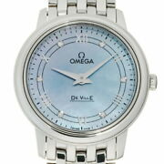 Omega De Ville Watch Ladies Excellent Condition Stainless Steel Used From Japan