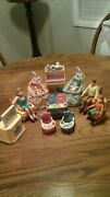 Fisher Price Loving Family Dollhouse Nursery Furniture And Family